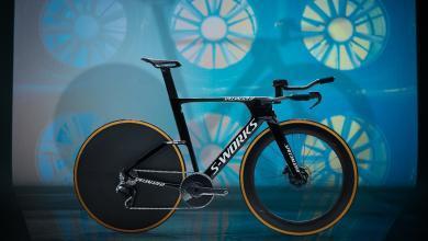 Foto des neuen S-Works Shiv TT Disc Chrono- und Triathlon-Bikes von Specialized