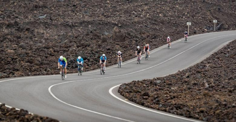 Cycling sector on the island of Lanzarote