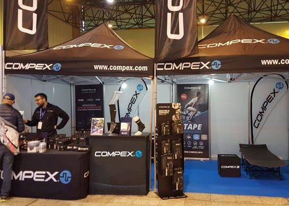 compete tent in expo area