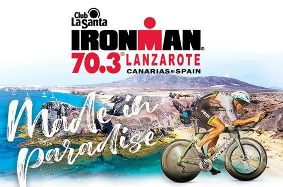 Poster IRONMAN 70.3 Lanzarote 2019