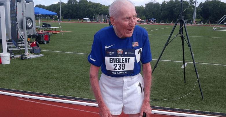 Roy Englert 96 Jahre alt
