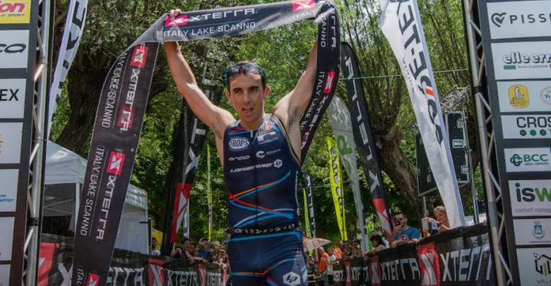 Rubén Ruzafa ganando el Xterra Italy Scanno