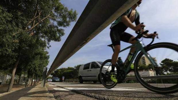 imagen ciclista Comunidad Valencian Community