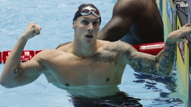 Photo of Caeleb Dressel gets the Gwangju World Cup 8 medals