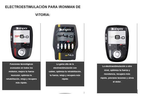 COMPEX at IRONMAN VITORIA