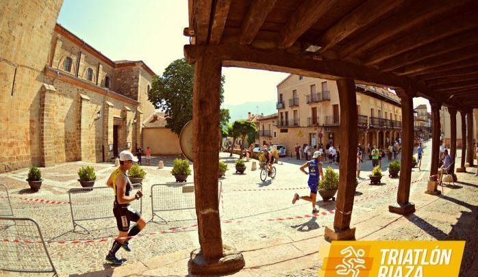 Carrera a pie triatlon de riaza