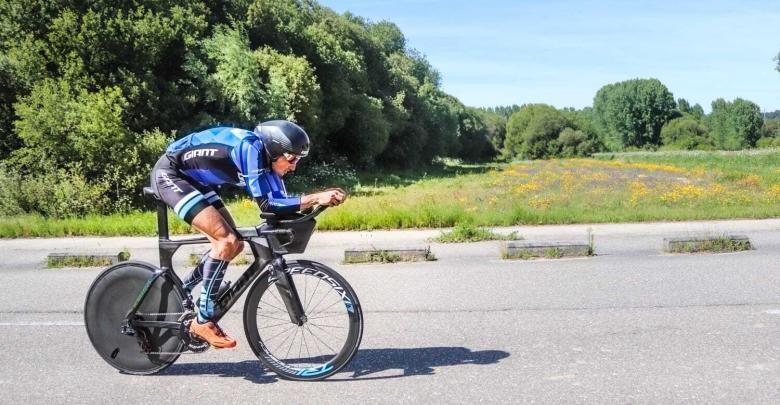 Kalmar's photo of Ironman in Sweden last chance for Gustavo Rodriguez.