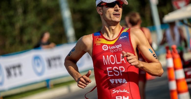 Mario Mola at the WTS Edmonton