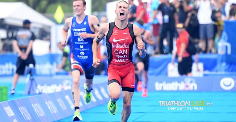 Tyler Mislawchuk wins test event Tokyo 2020