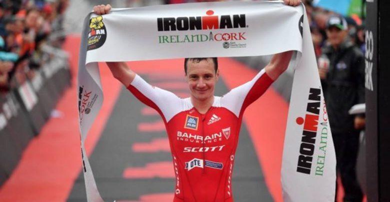 Alistair Brownlee ganando el IRONMAN Irlanda