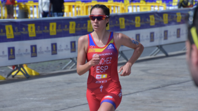 Photo of Marta Sánchez tenth at the Karlovy Vary World Cup