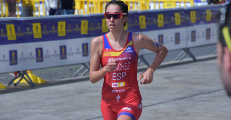 Marta Sánchez in competition