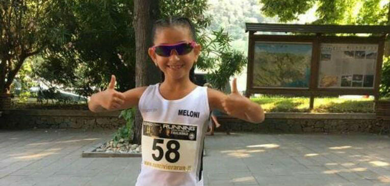 Sara Meloni, from 7 years the fastest in Europe in 5 000