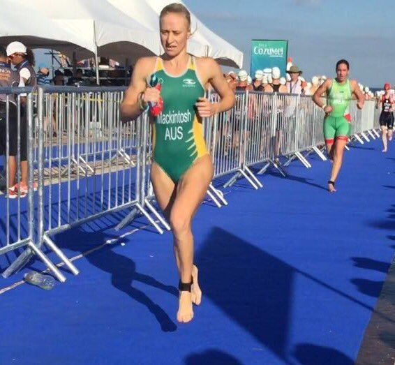 Margo Mackintosh corriendo