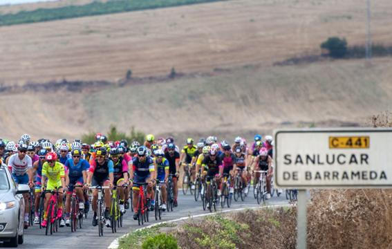 Doañana Challenge cycling sector