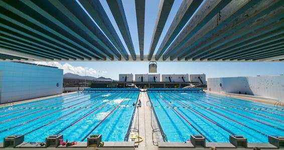 Piscinas olímpicas Club La Santa Lanzarote