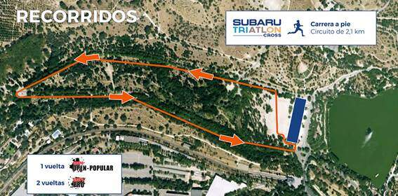 Sector foot race Subaru Triathlon Cross