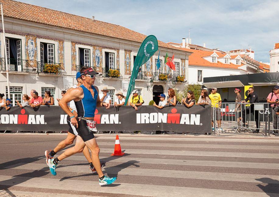 Ironman Cascais foot race sector
