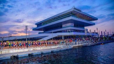 Photo of 2.500 triathletes at Valencia Trialtón