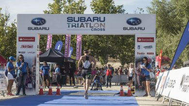 Photo of Chema Martínez and Luis Pasamontes the duel in the Subaru Triathlon Cross this weekend