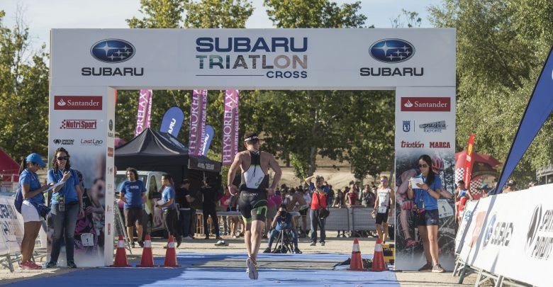 Meta Subaru Triathlon Cross Madrid