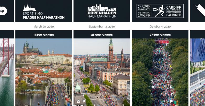 Circuit 2020 majeur de semi-marathon