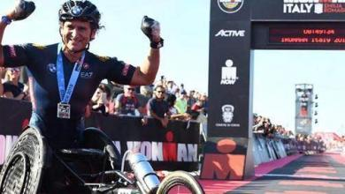 Photo of An Italian paratriathlete wins the IRONMAN and IRONMAN 70.3 Italy in 2 consecutive days