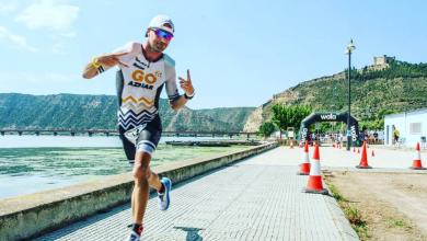 Photo of Carlos Aznar, Top 10 in the LD European Triathlon Championship