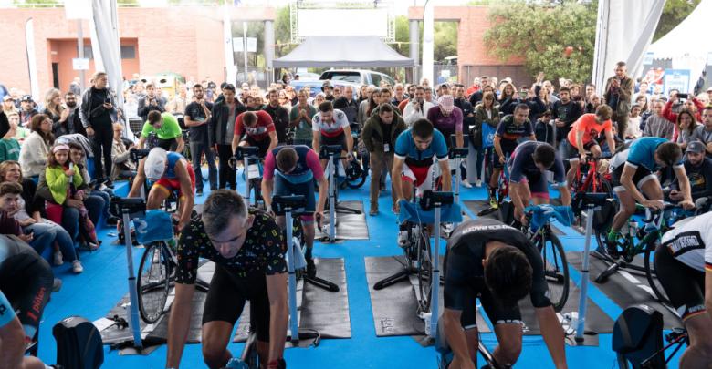 Final Movistar Virtual Cycling en Festibike