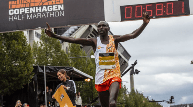Photo of The Half Marathon World Record Video in 58: 08, to 2: 44 min / km