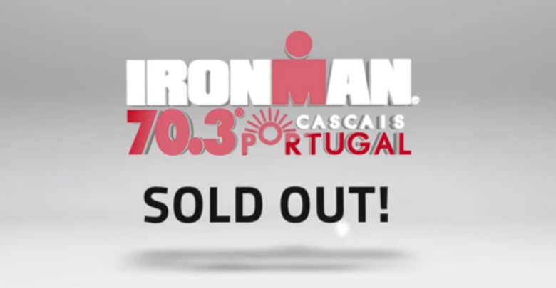 Ironman 70.3 cascais hangs full poster