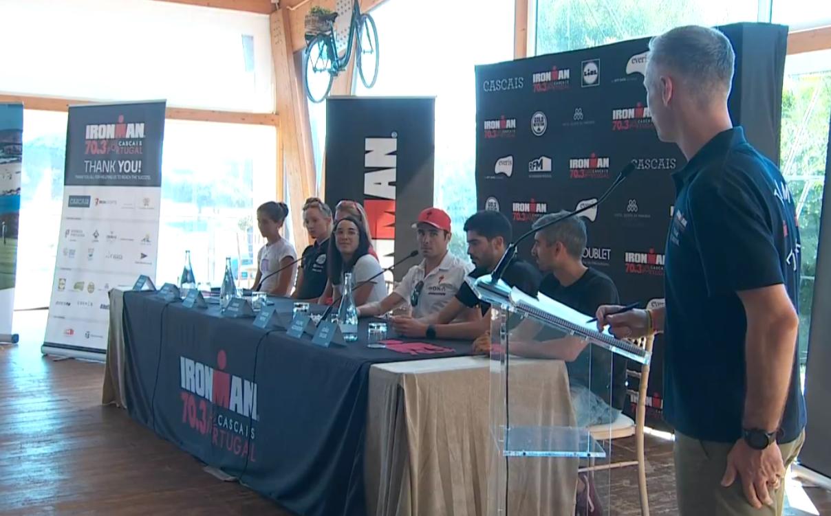 Conférence de presse IRONMAN 70.3 Cascais