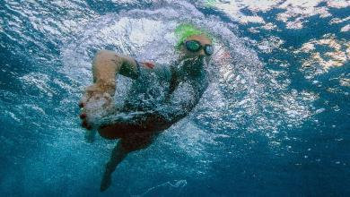 IRONMAN swimming training