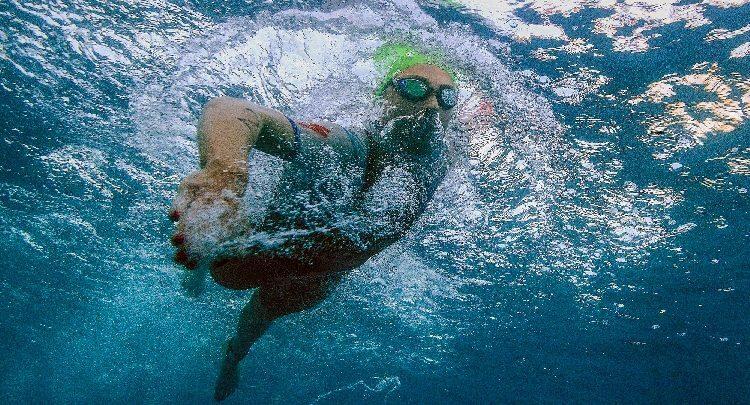 IRONMAN Schwimmtraining