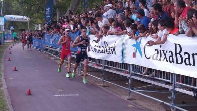 Photo of Mario Mola second in the Banyoles World Cup