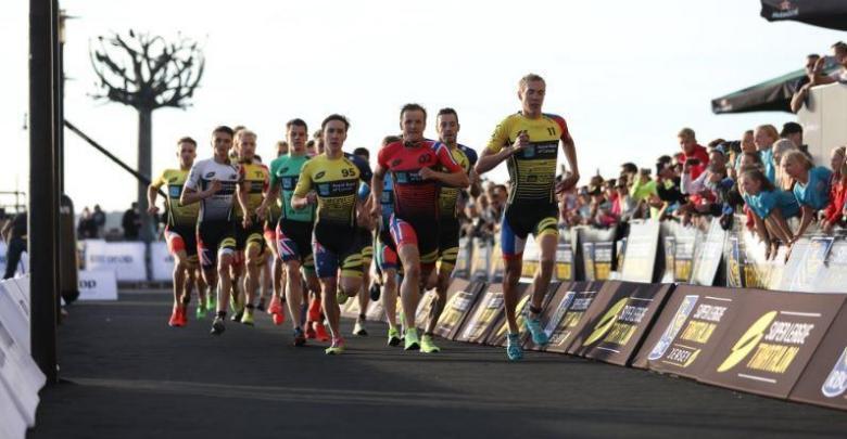 Super League Triathlon foot race