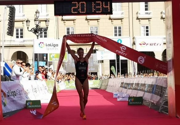 Tamara Gómez Spanien Triathlon Meisterin A Coruña