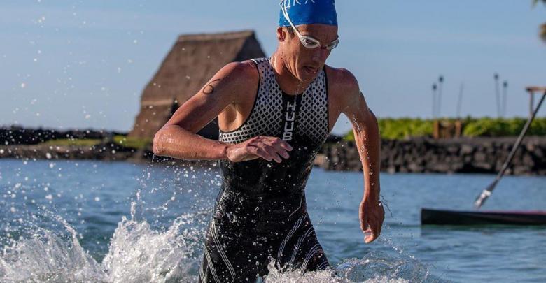 Alistair Brownle wins Ho'ala IRONMAN Training Swim