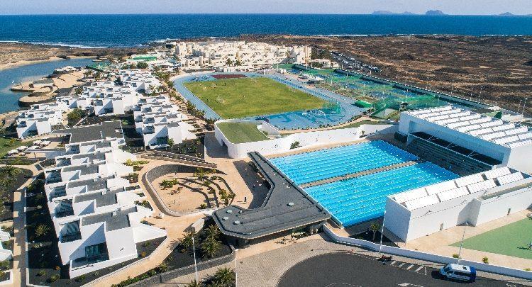 Vista panorámica del Club La Santa en Lanzarote