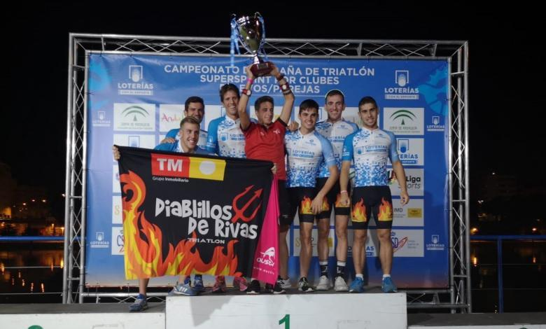 Diablillos de Rivas Mar de Pulpí wins the 2019 Triathlon Lottery League