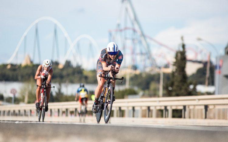 Fordern Sie das Radsportsegment Salou heraus