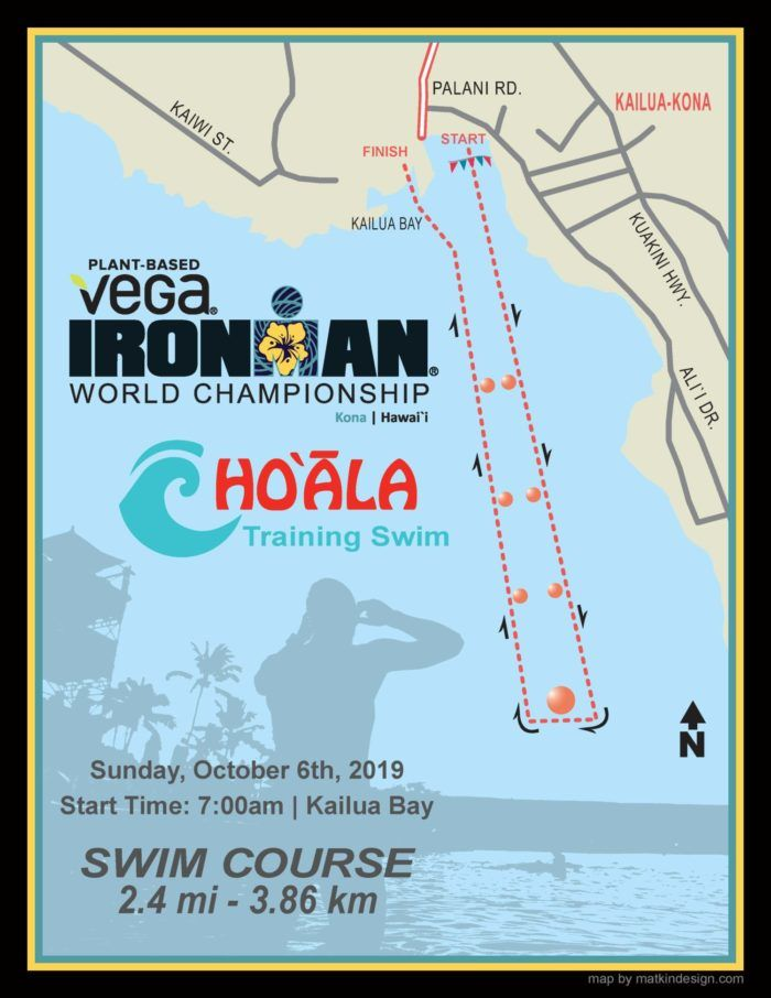 Alistair Brownle warns by winning the Ho & # 8217; Wing IRONMAN Training Swim