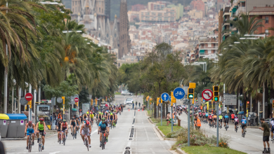 Photo of Nearly 4.000 athletes in the Barcelona Triathlon