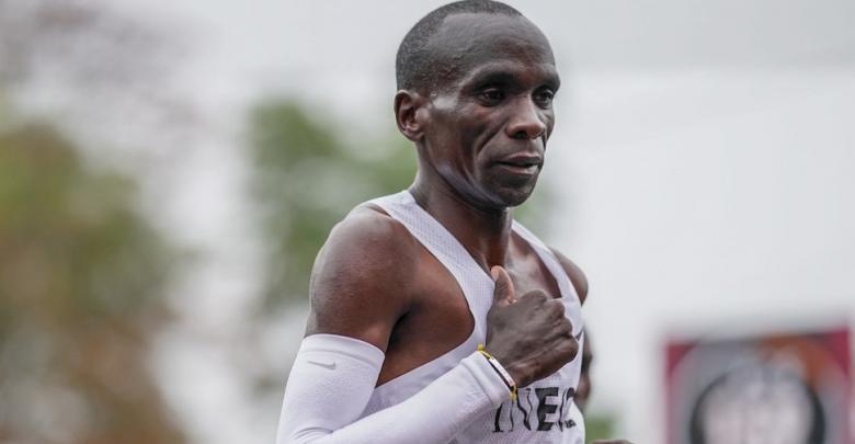 Eliud Kipchoge baja de las 2 horas en maratón