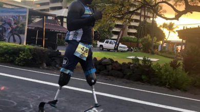 Photo of Roderick Sewell, the emotional story of overcoming IRONMAN Hawaii 2019