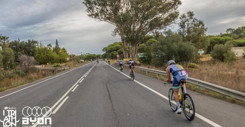 Sector ciclista Isla Canela Triatlón Guadiana
