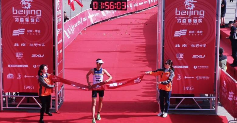Mario Mola gana el Beijing International Triathlon
