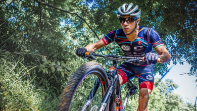 Photo of Rubén Ruzafa bronze at the XTERRA World Championship