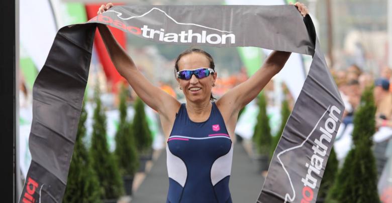 Photo of Ainhoa Murua wins the Bilbao Olympian Triathlon