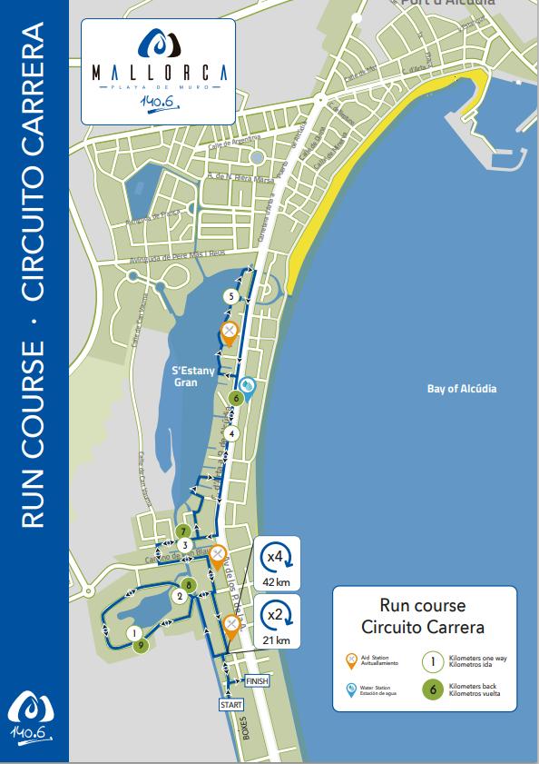 Circuitos Mallorca 140.6 Triathlon, el nuevo Triatlón de larga distancia de Mallorca